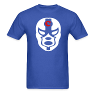 T-Shirts ~ Men's Standard Weight T-Shirt ~ Cubs Nacho Libre mask Shirt