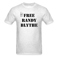 T-Shirts ~ Men's Standard Weight T-Shirt ~ Free Randy Blythe T-Shirt