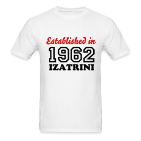 ESTABLISHED IN 1962 IZATRINI ~ 351