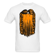 T-Shirts ~ Men's Standard Weight T-Shirt ~ Mens Tee: Dwarf Beard