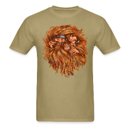 T-Shirts ~ Men's Standard Weight T-Shirt ~ Mens Tee: Tangled