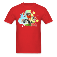 T-Shirts ~ Men's Standard Weight T-Shirt ~ Mens Tee: Honeydew's Pets