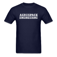 T-Shirts ~ Men's T-Shirt ~ Aerospace Engineering