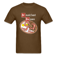 T-Shirts ~ Men's Standard Weight T-Shirt ~ Breakfast Bacon
