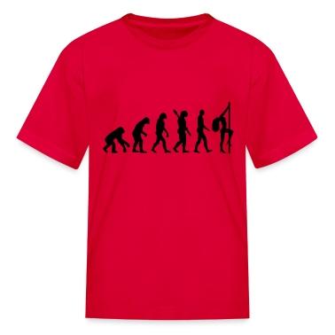 Evolution sexy woman Kids' Shirts