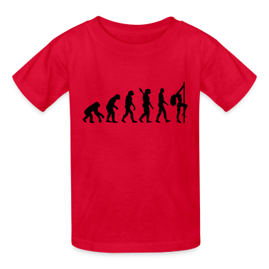 Evolution sexy woman Kids' Shirts