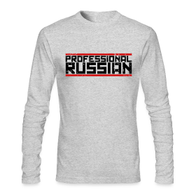 Long Sleeve Tee : Pro Russian ~ 279
