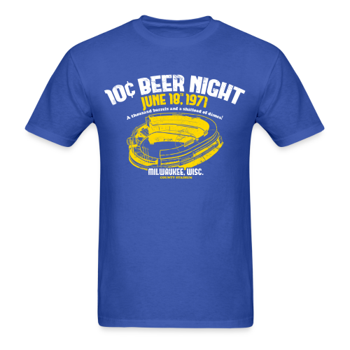 10 CENT BEER NIGHT MILWAUKEE COUNTY STADIUM