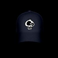 Skull-3-ball-cap