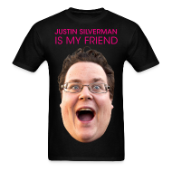 T-Shirts ~ Men's Standard Weight T-Shirt ~ Justin is my Friend