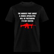 T-Shirts ~ Men's T-Shirt ~ The hardest part...
