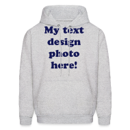 Hoodies ~ Men's Hooded Sweatshirt ~ Article 10919385