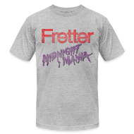 T-Shirts ~ Men's T-Shirt by American Apparel ~ Fretter Midnight Mania