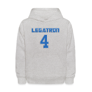 Sweatshirts ~ Kids' Hooded Sweatshirt ~ Legatron