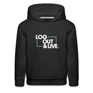 Log Out and Live Premium Hoodie