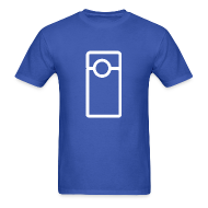 T-Shirts ~ Men's Standard Weight T-Shirt ~ Vlogger - Transparent (Men's)