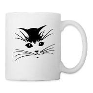 Bottles & Mugs ~ Coffee/Tea Mug ~ Debbie: Thinking About Cats