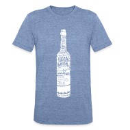 T-Shirts ~ Men's Tri-Blend Vintage T-Shirt ~ Bottle Crew Neck