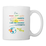 Bottles & Mugs ~ Coffee/Tea Mug ~ Power of Positivity Affirmation Mug