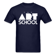 T-Shirts ~ Men's Standard Weight T-Shirt ~ The Art School (Men's)