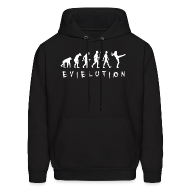 Hoodies ~ Men's Hooded Sweatshirt ~ Evielution Hoodie