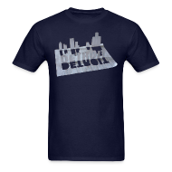 T-Shirts ~ Men's Standard Weight T-Shirt ~ Detroit Loose Leaf