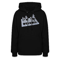 Hoodies ~ Women's Hooded Sweatshirt ~ Detroit Loose Leaf