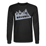 Long Sleeve Shirts ~ Men's Long Sleeve T-Shirt ~ Detroit Loose Leaf