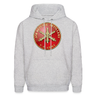 Hoodies ~ Men's Hooded Sweatshirt ~ ADA Branch Plaque