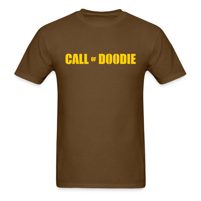 Call of Doodie - Men's T-Shirt