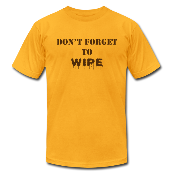 Don't Forget to Wipe