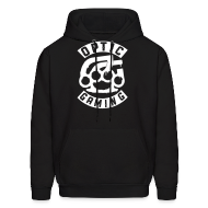 Hoodies ~ Men's Hooded Sweatshirt ~ Brazzed Knuckled Up