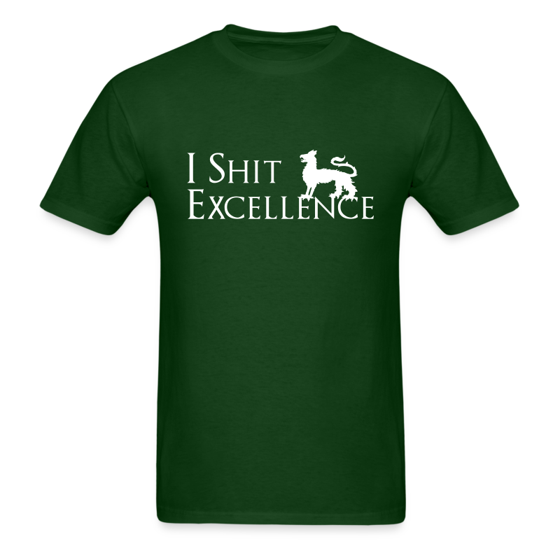 I Shit Excellence - Men's T-Shirt