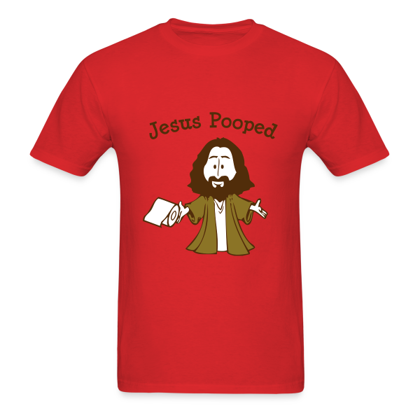 Jesus Pooped - Men's T-Shirt