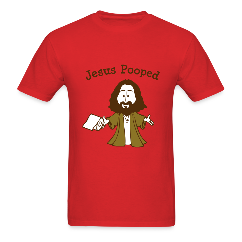 Jesus Pooped