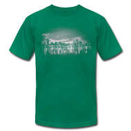 T-Shirts ~ Men's T-Shirt by American Apparel ~ World's Greatest Skyline