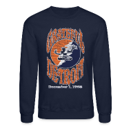 Long Sleeve Shirts ~ Men's Crewneck Sweatshirt ~ Grateful Detroit