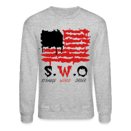 Long Sleeve Shirts ~ Men's Crewneck Sweatshirt ~ Strange World Sweatshirt