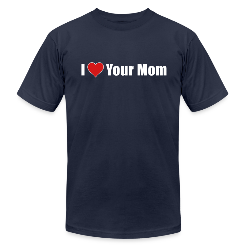 I Heart Your Mom - Men's  Jersey T-Shirt