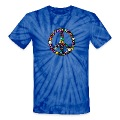 Floral Peace Sign T-Shirts