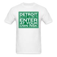 T-Shirts ~ Men's T-Shirt ~ Detroit Risk Mens Tee