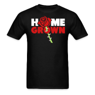 T-Shirts ~ Men's Standard Weight T-Shirt ~ Rose Home Grown Shirt