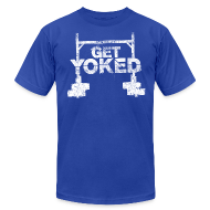 T-Shirts ~ Men's T-Shirt by American Apparel ~ GET YOKED