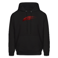 Hoodies ~ Men's Hooded Sweatshirt ~ Mcsportzhawk Hawk Hooded Sweatshirt