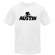 T-Shirts ~ Men's T-Shirt by American Apparel ~ Austin Cycling T-Shirt