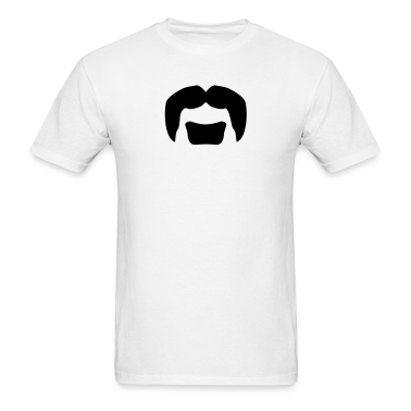 Moustache and beard