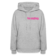 Hoodies ~ Women's Hooded Sweatshirt ~ Neon Pink BunnyHug