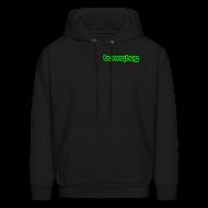 Hoodies ~ Men's Hooded Sweatshirt ~ Neon Green BunnyHug