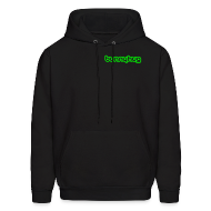 Hoodies ~ Men's Hooded Sweatshirt ~ Neon Green BunnyHug