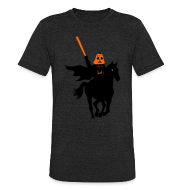 T-Shirts ~ Men's Tri-Blend Vintage T-Shirt ~ Headless Horseman Vader